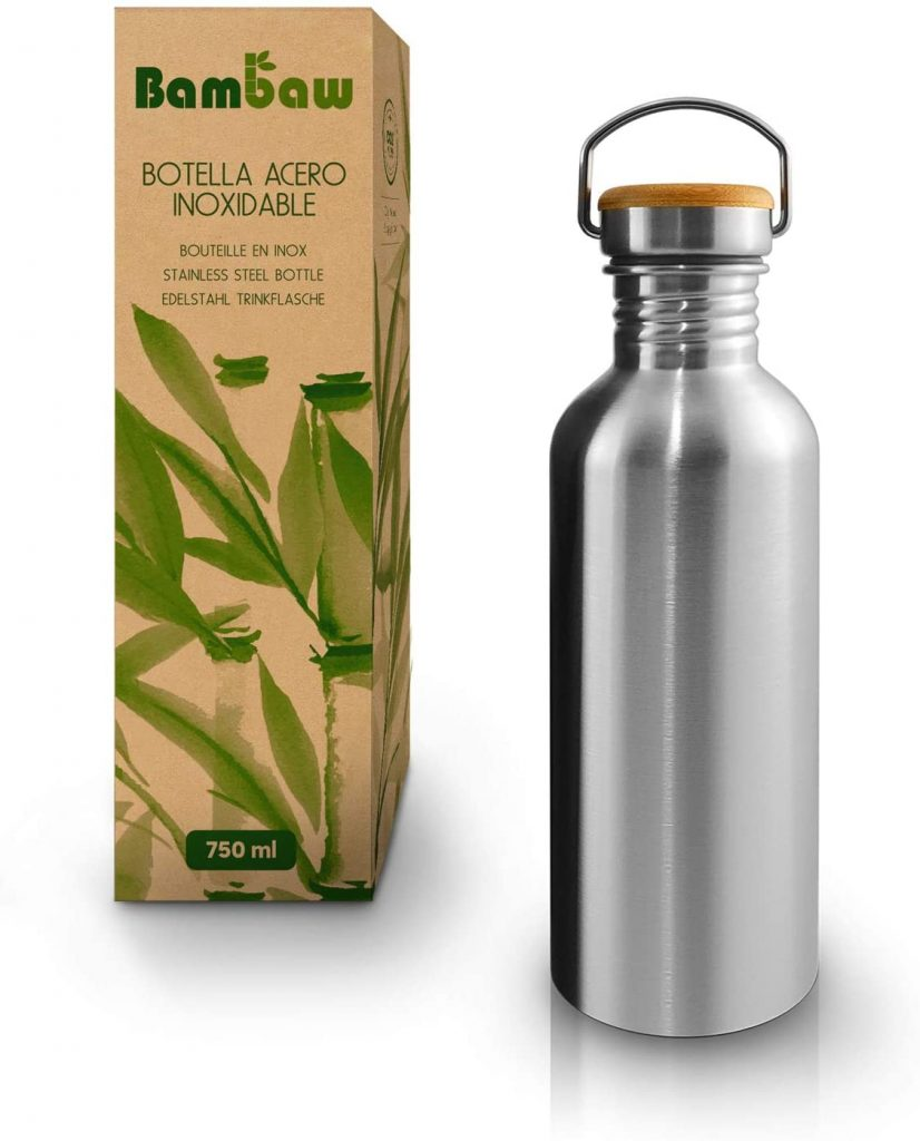 Botella Agua reusable Bambaw