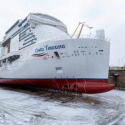 Costa Toscana: El barco gemelo más sostenible